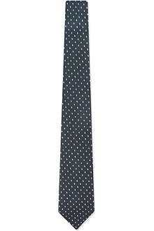 Z ZEGNA Crepe shadow dots tie