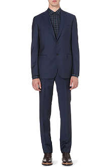 Z ZEGNA Wool-mohair single-breasted suit