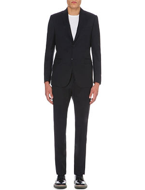 Z ZEGNA Wool and mohair-blend suit