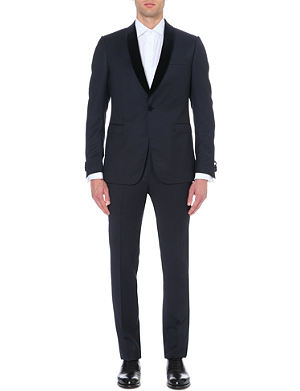 Z ZEGNA Shawl-collar wool evening suit