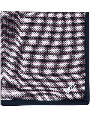 Z ZEGNA Circle-print pocket square