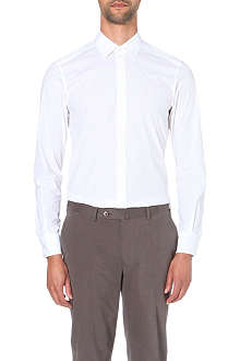 Z ZEGNA Stretch-cotton slim-fit single-cuff shirt