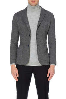 Z ZEGNA Patch pocket tailored jersey jacket