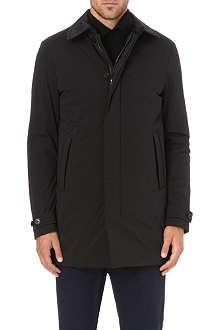 Z ZEGNA Fleece-lined twill coat