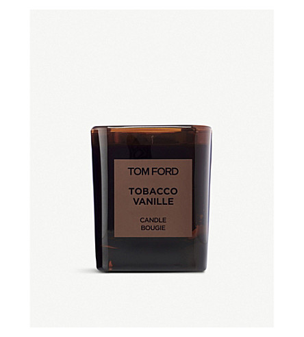 TOM FORD Tobacco vanille scented candle and cover
