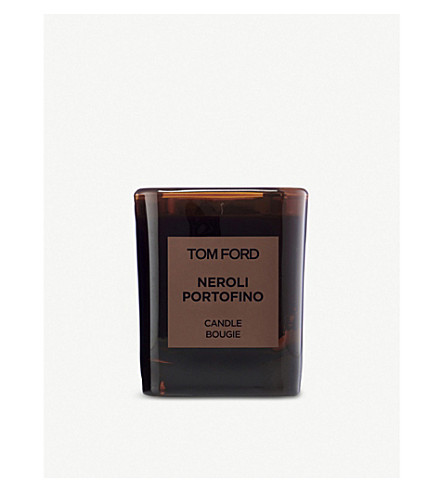 TOM FORD Neroli Portofino scented candle and cover