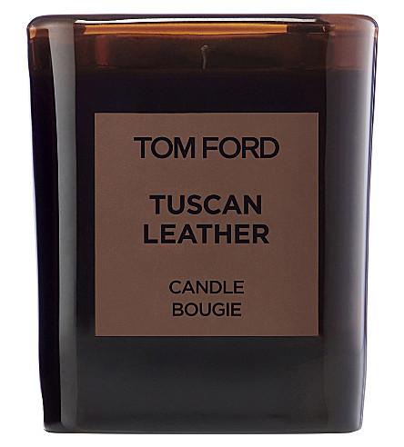 TOM FORD 托斯卡纳皮革蜡烛