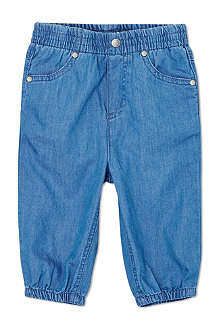 STELLA MCCARTNEY Pipkin denim trousers 6-24 months