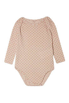 STELLA MCCARTNEY Pink horseshoe bodysuit 3-12 months