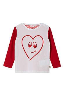 STELLA MCCARTNEY Georgie heart top 9-24 months