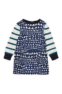 STELLA MCCARTNEY Luna hearts corduroy dress 3-24 months