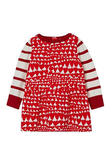 STELLA MCCARTNEY Luna hearts corduroy dress 3-24 months