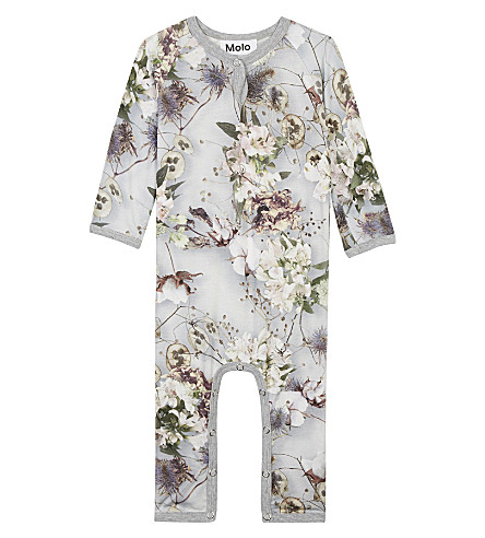 MOLO Fiona baby-grow 3-18 months (Grey