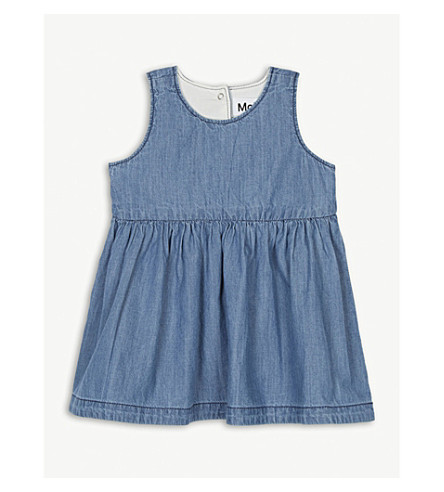 MOLO Ciera sleeveless denim dress 6-24 months (Blue