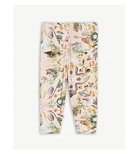 MOLO Stefanie printed cotton-blend leggings 3-24 months (Pink