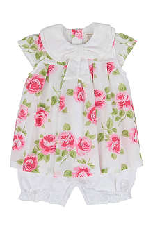 EMILE ET ROSE Floral dress 1-9 months