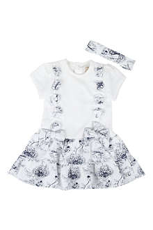 EMILE ET ROSE Dress and hairband 3-24 months