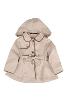 FENDI Hooded trench coat 9-24 months