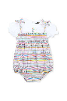FENDI Striped bubble bodysuit 3-9 months