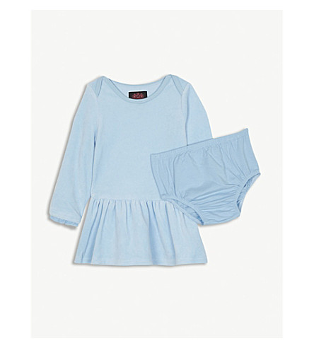 JUICY COUTURE Velour dress and knickers set 3-24 months (Wallis+blue