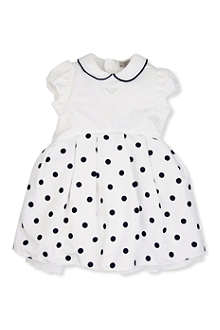ARMANI JUNIOR Polka dot dress 3-24 months