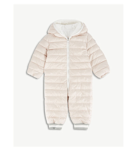 MONCLER 福尔伯特绗缝衣3-18 月 (软 + 粉红色