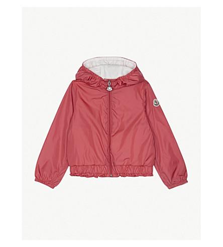 MONCLER Poem frilled jacket 3-36 months (Mid+pink