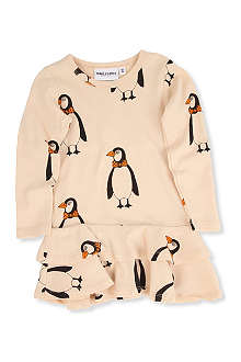 MINI RODINI Mr penguin bodysuit 3-12 months