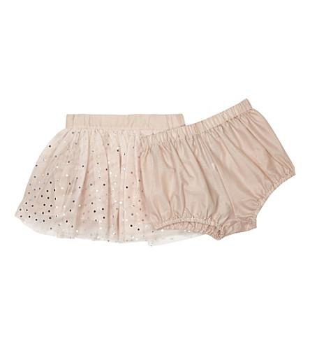 STELLA MCCARTNEY Honey tulle skirt 6-36 months (Pearl+pink