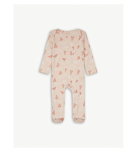 STELLA MCCARTNEY Rufus printed cotton babygrow 3-24 months (Icecream