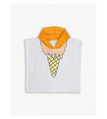 STELLA MCCARTNEY Bobo ice cream terry-cotton poncho (Lavender