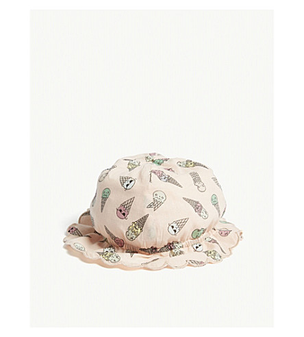 STELLA MCCARTNEY Dolores ice cream print cotton sun hat (Icecream