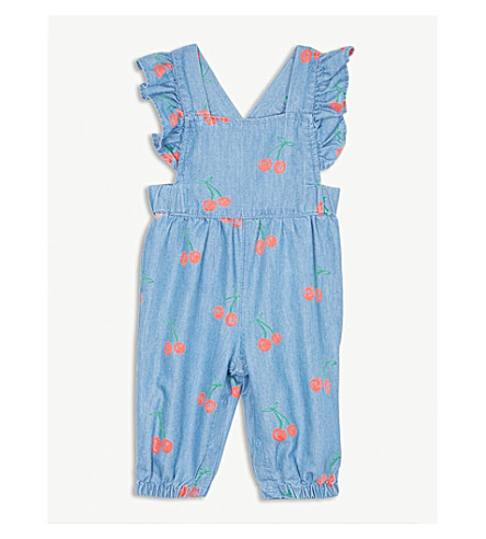 686f32048090 ... STELLA MCCARTNEY Cherry-print ruffle-trim romper 3 months - 3 years ( Cherry. PreviousNext