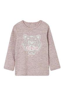 KENZO Tiger motif t-shirt 3-36 months