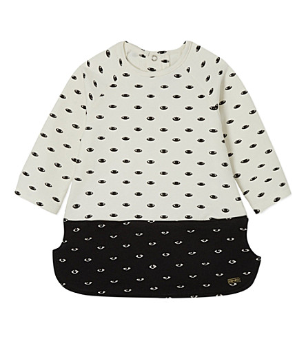 KENZO Eye dress 3-36 months (Cream