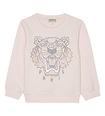 KENZO Tiger cotton jumper 2-3 years (Pink