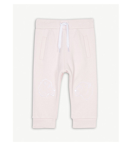 KENZO Tiger and friends cotton jogging bottoms 6-36 months (Baby+pink