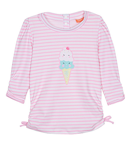 SUNUVA Ice cream stripe rash vest 3-24 months (Icecream