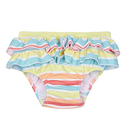 SUNUVA Sorbet stripe frill swimwear bottoms 3-24 months (Sorbet+stripe