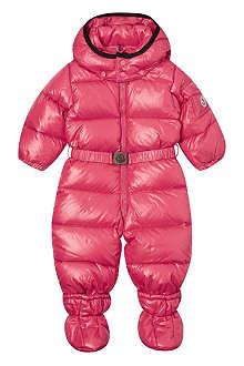 MONCLER Smandes snowsuit 3-18 months