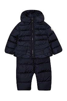 MONCLER Lou snowsuit 9-36 months