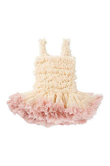 ANGELS FACE Peaches and cream frufru dress 0-1 years
