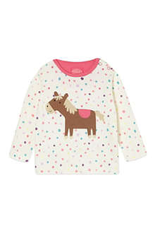 JOULES Horse top 3months-3years