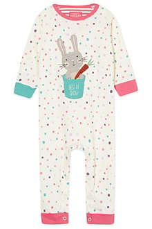 JOULES Rabbit babygrow 0-18 months