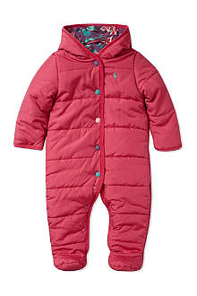 JOULES Hooded pram suit 0-12 months
