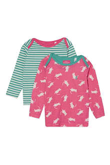 JOULES Pack of two printed tops 3 months-3 years