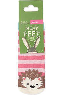 JOULES Neat Feet socks twin-pack 0-6 months