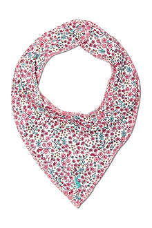 JOULES Pony-print double-sided bib
