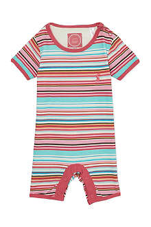 JOULES Striped romper suit 0-12 months