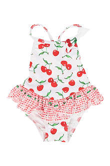 PATE DE SABLE Cherry swimsuit 6 months-2 years